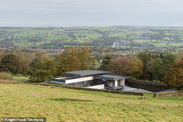 On the moors: Reservoir House is on the south east side of Ilkley