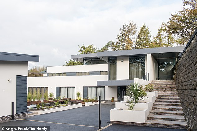 The property is on the market via estate agents Knight Frank with a £3million price tag