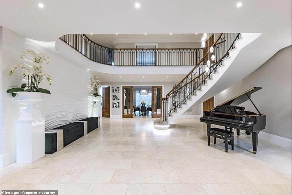 Wow:Little Mix star Leigh-Anne Pinnock is selling her lavish home for £4.95 million –after losing a fight to build an underground pool