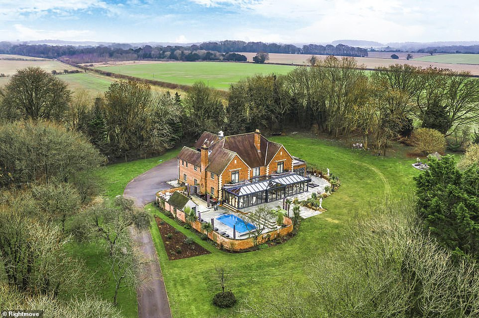 It's a 10!: The stunning Hampshire home of Strictly Come Dancing judge Craig Revel Horwood is for sale for £3,295,000