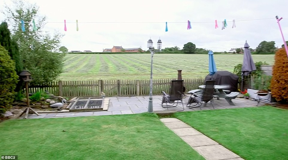 BEFORE:Parents Neil and Clare live in Northwich, Cheshire, with their four teenage children. Their garden is a good size and has spectacular view of surrounding countryside, but the couple felt the space wasn't being put to best use