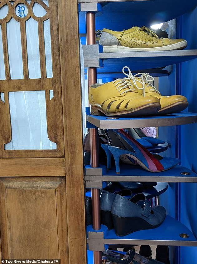 Susanna has a passion for shoes but had no idea where to start in creating her dream shoe closet