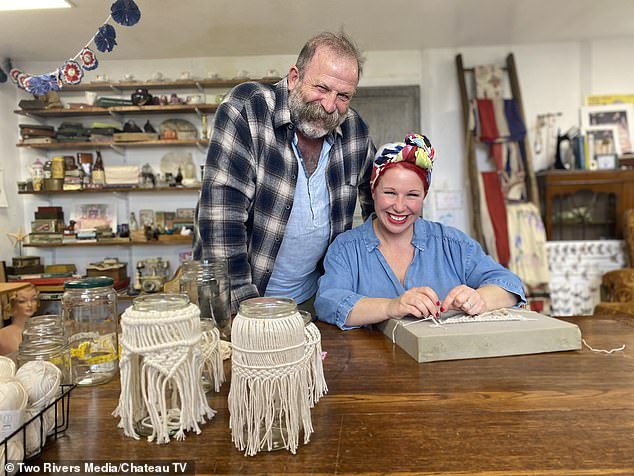 Dick and Angel Strawbridge are back on our screens in their new series of Make Do and Mend