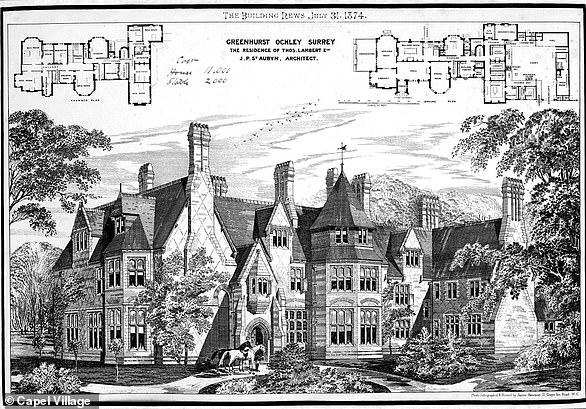 Grenehurst Park: The house and gardens were owned briefly by Sir Richard Branson