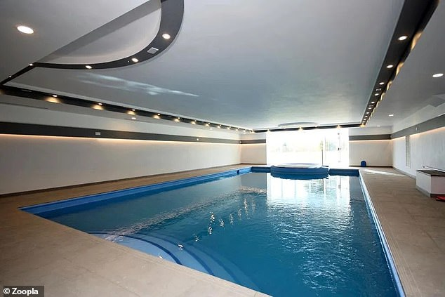 There are several communal facilities at the estate, which the flat buyers would have access to, including this swimming pool