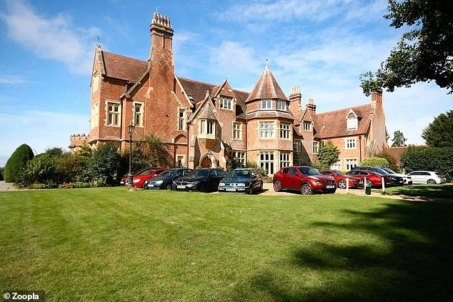 The one-bedroom flat in Capel, near Dorking in Surrey, is part of a large estate called Grenehurst Park