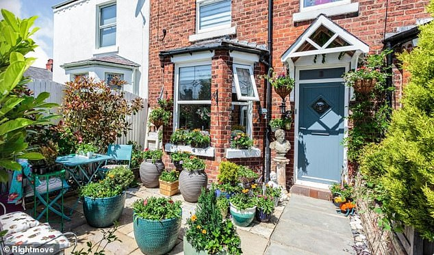 This two-bed terraced home in Lytham, Lancashire is on the market for £300,000