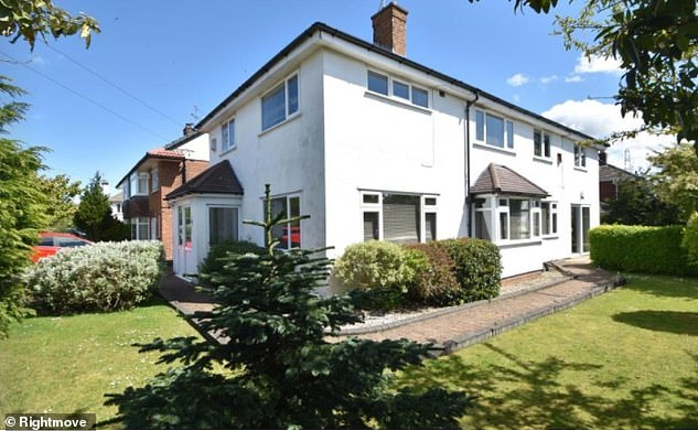 In Heswall, Wirral, this five-bed home is on Rightmove with an asking price of £450,000
