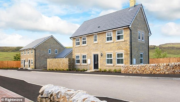 This new-build, two-bed property near Buxton in Derbyshire is on Rightmove for £274,995