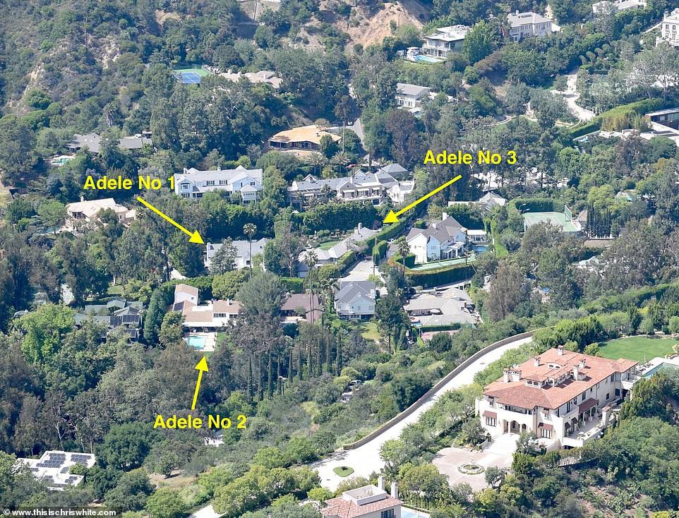 Impressive!Adele has purchased her third home in a star-studded Beverly Hills neighbourhood, having bought the new mega mansion from her friend Nicole Richie