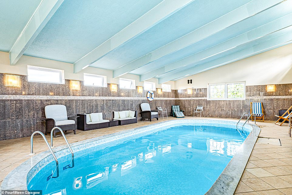 Cattermuir Lodge has a vast leisure suite that has been popular during the current vendor's 18 years of ownership