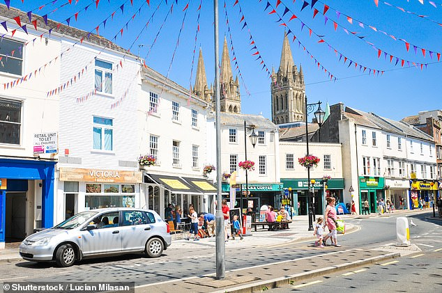 Cornwall's city: Truro commands some of the highest property prices in Cornwall – and is also the home of a world-famous cheese, Yarg, which kick-started the artisan food renaissance