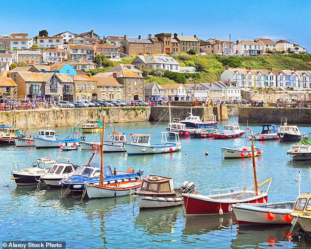 Thriving: The village of Porthleven on the Lizard peninsula