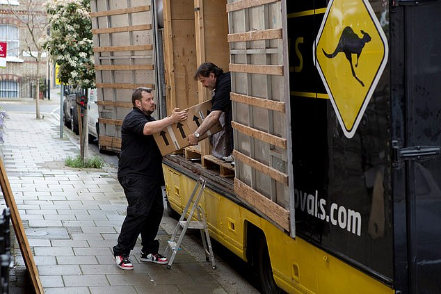 Top tips include making sure that your removal van can park outside of your house on moving day