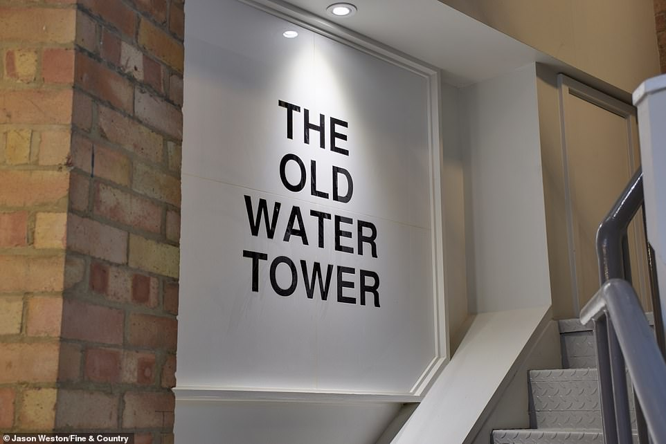 We pick three luxury converted water towers that are on the market and range in price from£1.25million to £1.4million