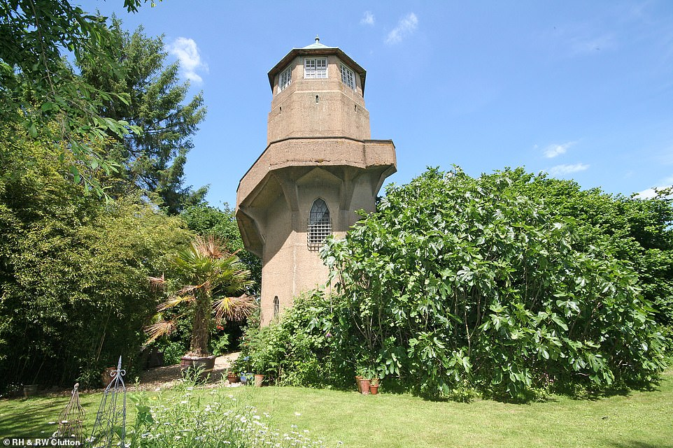 This water tower in Steyning, West Sussex, was designed by Maxwell Ayrton - the architect who designed the original Twin Towers at Wembley Stadium